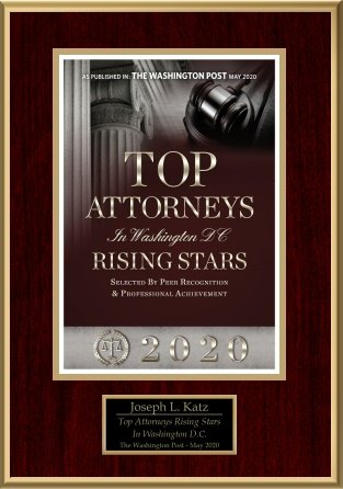 Washington DCs Top Attorney Award Joe Katz