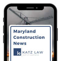Maryland Construction News