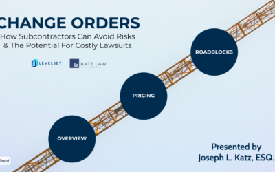 Change Orders: How Subcontractors Can Avoid Risks